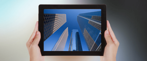 iPad with Buildings featured