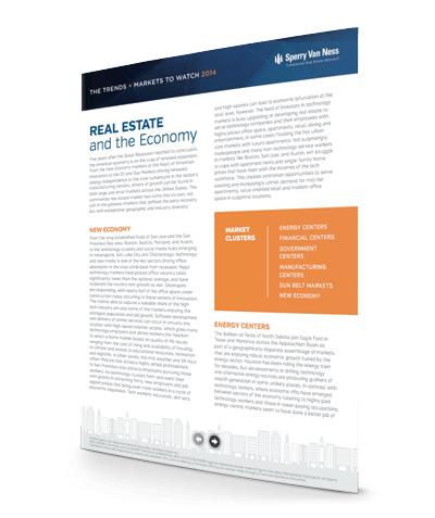 Real Estate and the Economy Chandan Report